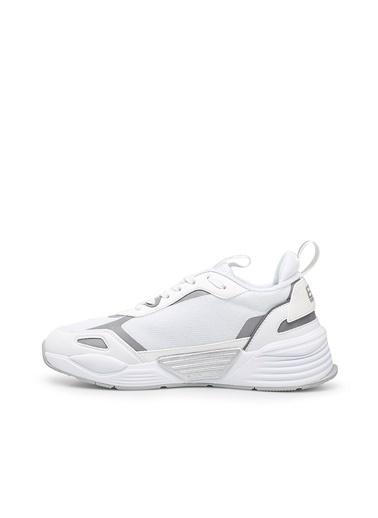 Emporio Armani  Marka Logolu Kalın Tabanlı Sporayakkabı Unısex Ayakkabı X8X070 Xk165 00175 Beyaz